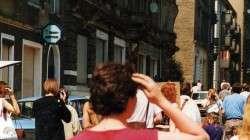Alaungarten im Juni 1991 - inzwischen ist hier die Bar Paradox drin.