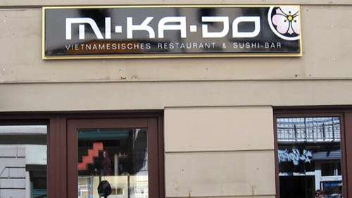 Mi-Ka-Do auf der Alaunstraße