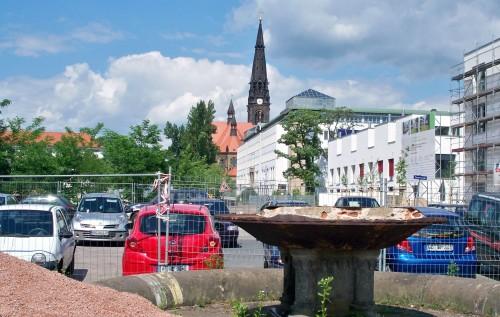 Brunnen-Ruine am Alaunplatz