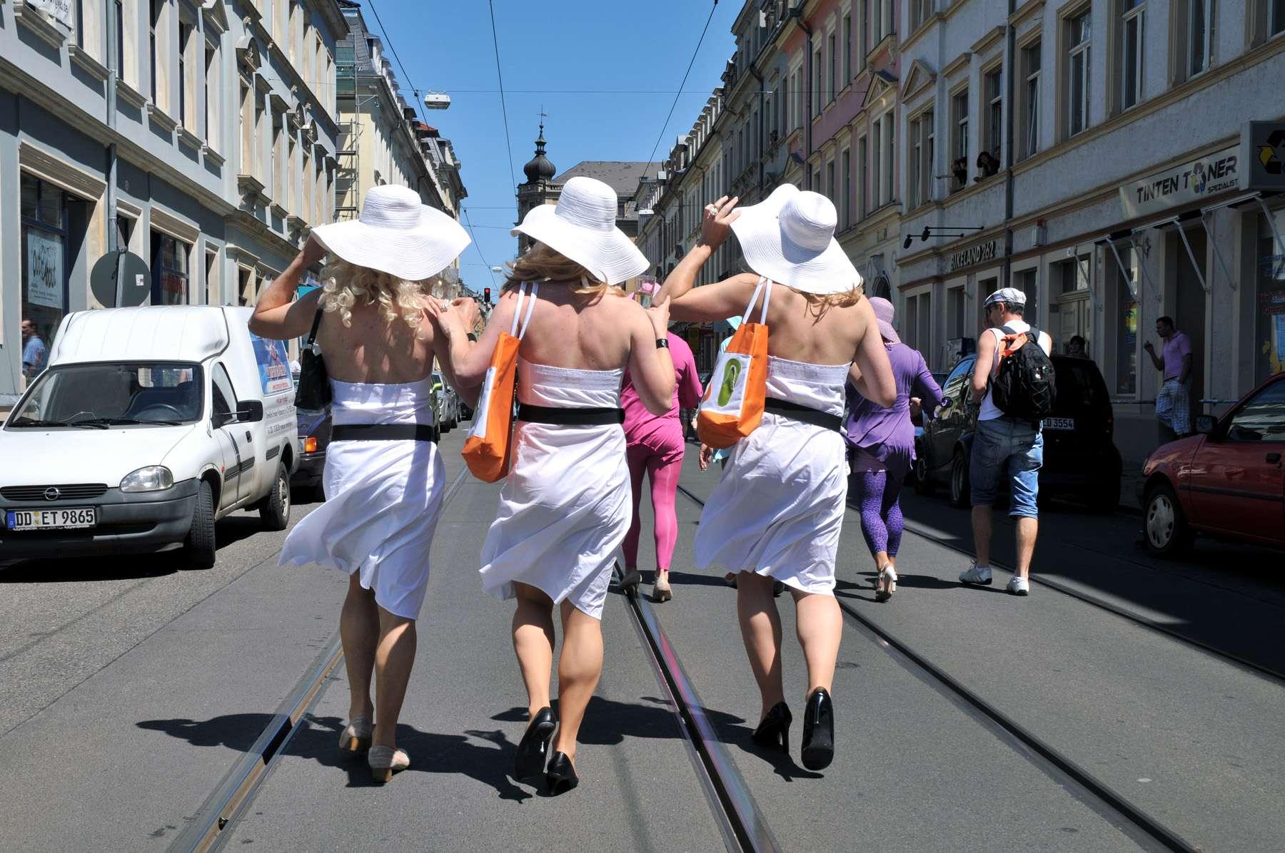 CSD-Parade auf der Görlitzer Straße