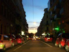 Alaunstraße am Nachmittag