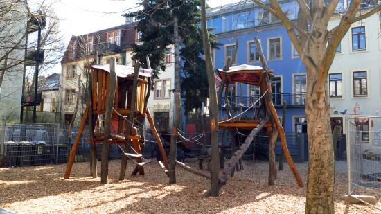Spielplatz an der Böhmischen Straße