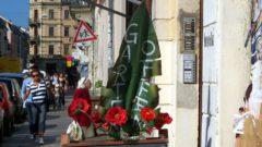 Blumen auf der Rothenburger Straße
