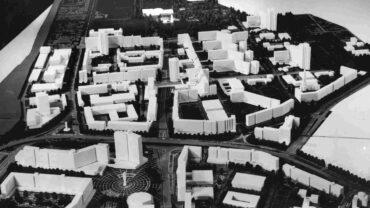 Neustadt-Modell beschriftet