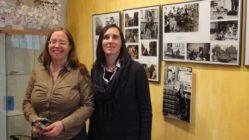 Ulla Wacker und Anett Lentwojt im neuen BRN-Museum - Foto: Archiv Anton Launer