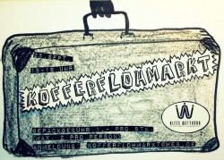 Kofferflohmarkt im Alten Wettbüro