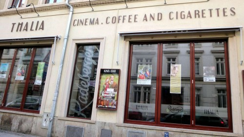 Thalia Cinema. Coffee and Cigarettes