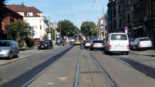 Königsbrücker Straße im September 2011