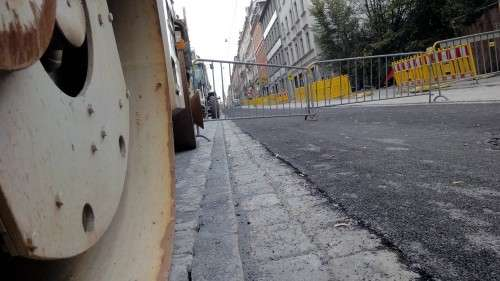 Alaunstraße fast fertig.