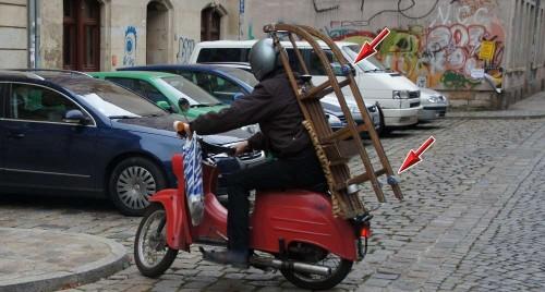 Gesehen vom Postmann ...