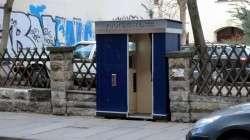 Neuer Photoautomat auf der Louisenstraße.