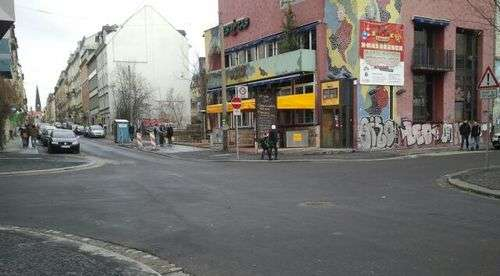Alaun-/Ecke Louisenstraße