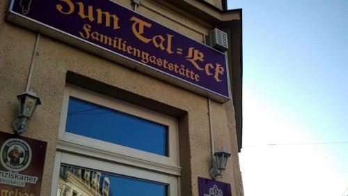 Tal-Eck auf der Schönfelder Straße