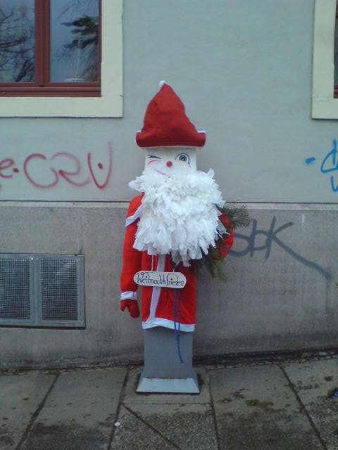 Weihnachtsautomat auf der Nordstraße, festgehalten von Ulrich.