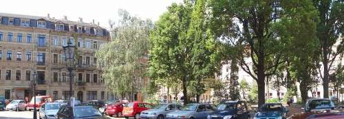 Teuer wohnen am Martin-Luther-Platz