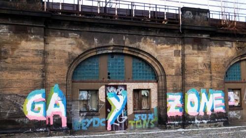 Gay-Zone in der Antonstraße