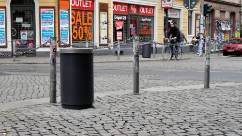 an der Ecke Louisenstraße, Görlitzer, Rothenburger
