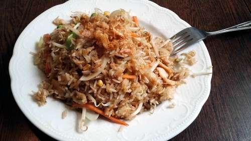 Es gibt auch Reis ...