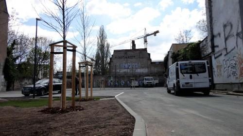 Anwohner-Parkplatz auf der Böhmischen Straße