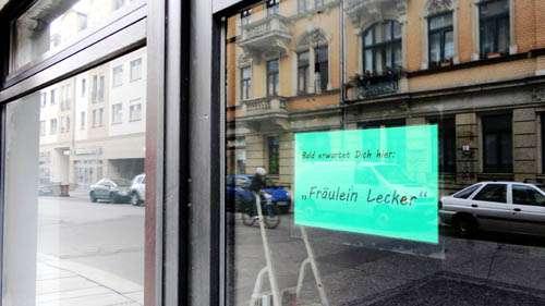 Bald in der Louisenstraße 11: Fräulein Lecker