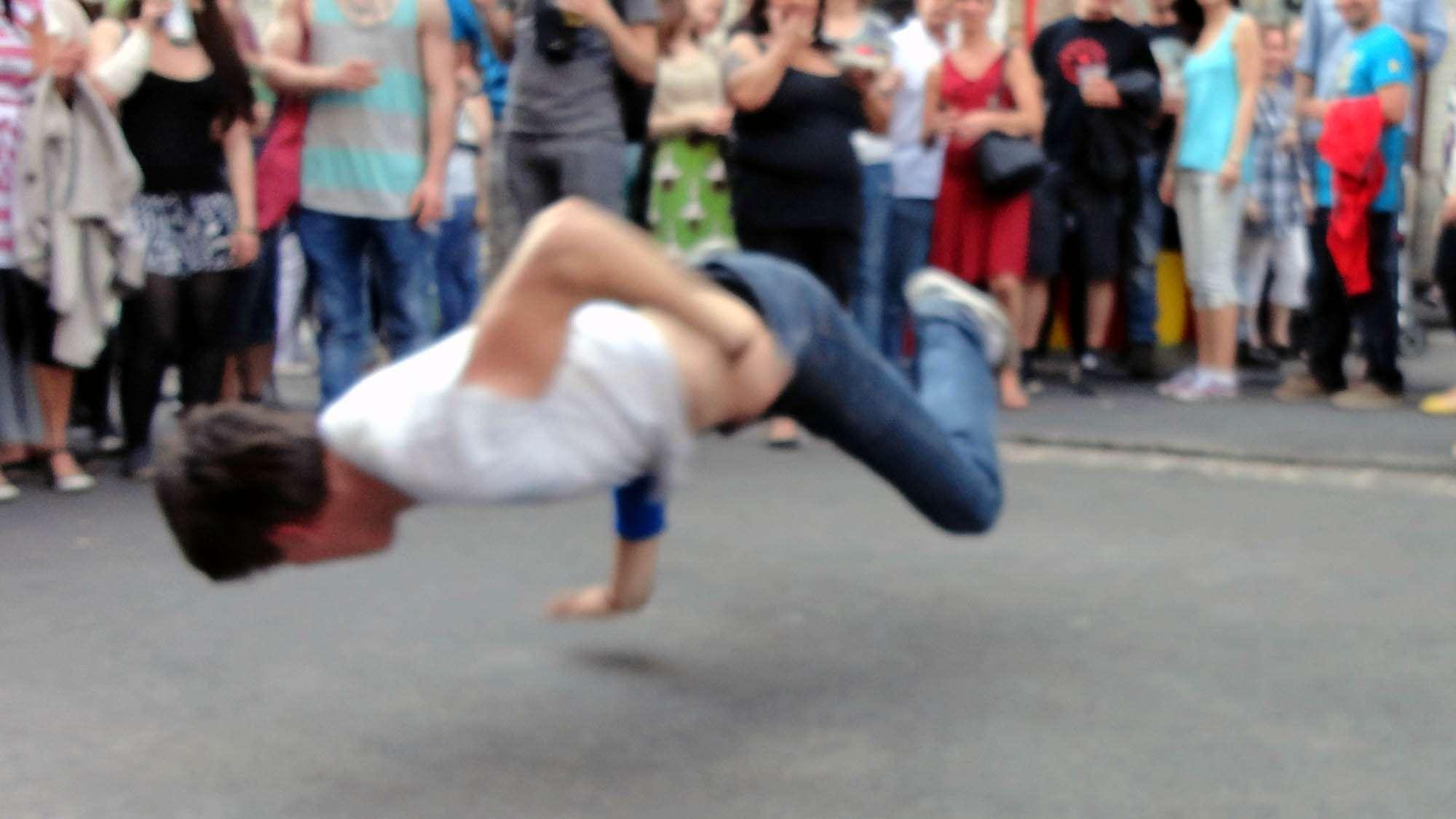 Alaunstraßen-Breakdance