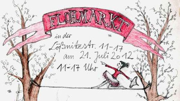 Fest auf der Lößnitzstraße