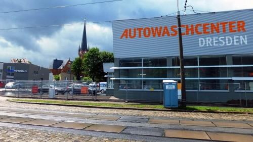 Neue Autowaschanlage auf der Fritz-Reuter-Straße