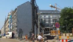 Baubeginn Tieckastraße