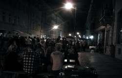 Nachts beim Hechtfest