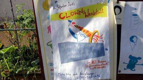 Clowns-Werkstatt im Panama