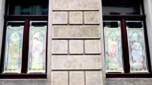 gesehen an der Prießnitzstraße, anklicken zum Vergrößern