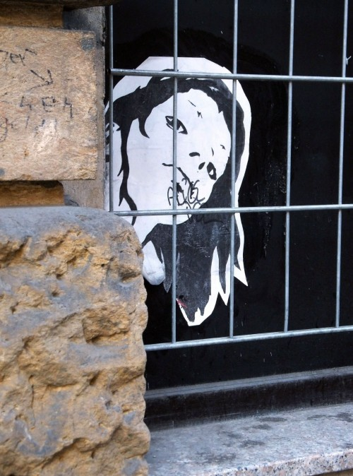 Eingesperrt! An der Försterei-/Ecke Louisenstraße