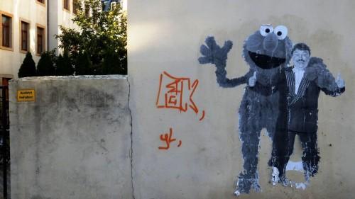 Blick über den Tellerand: So sieht Street-Art in Pieschen aus.