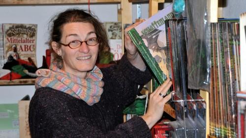 Martina Rettelbach in der Recken-Ecke