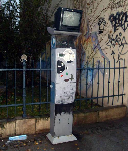 Neu auf der Kamenzer: Parkautomaten-TV