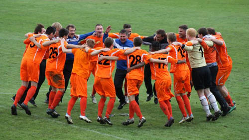 Die erste Männermannschaft des SC Borea Dresden