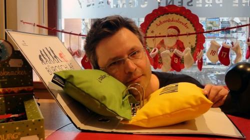 Torsten Daae im Test-Büro-Schlaf