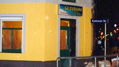 "La Cubana statt ""Das Faß"""