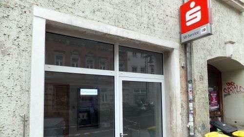 Neuer Sparkassen-Automat auf der Rudolf-Leonhard-Straße