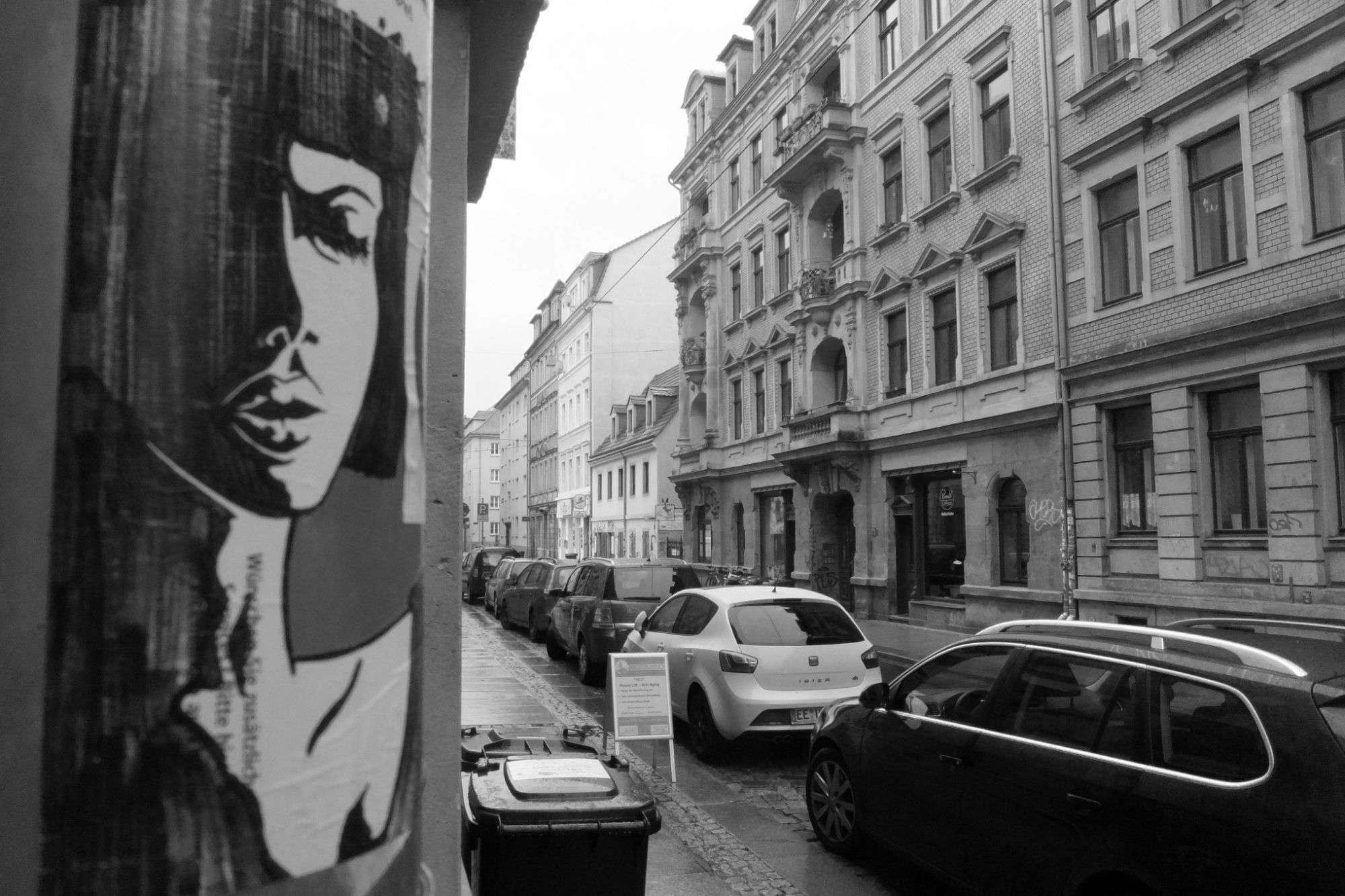 Gelassen auf der Alaunstraße