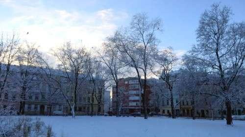 die Süd-Ost-Ecke des Alaunplatzes