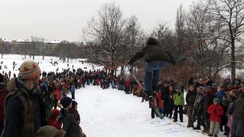 Millionen an den heimischen TV-Geräten und tausende vor Ort verfolgten das wichtigste Ereignis der Wintersportsaison.