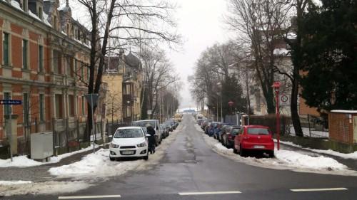 Durch diese Gasse wird der stadteinwärtige Verkehr geleitet. Foto: Archiv