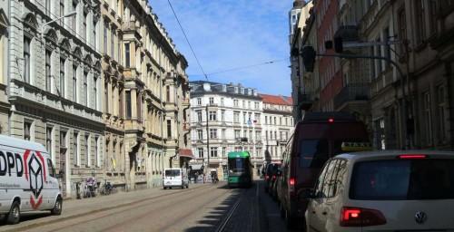 Ab Mittwoch für Autos gesperrt: Hoyerswerdaer Straße