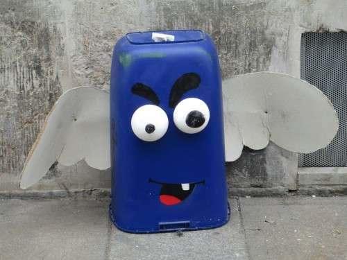 Das Müllmonster von der Katharinenstraße.