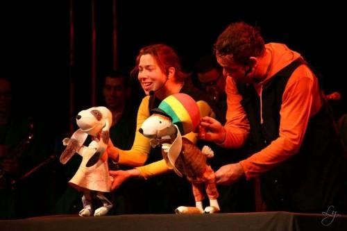 Reggaehase Boooo, ein Gastspiel des Puppentheaters Eckstein
