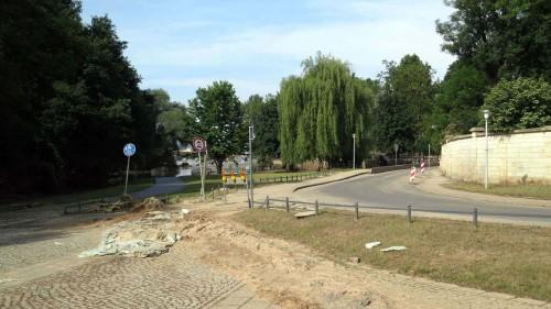 Die Umleitungsstrecke Holzhofgasse ist seit heute Morgen wieder befahrbar.