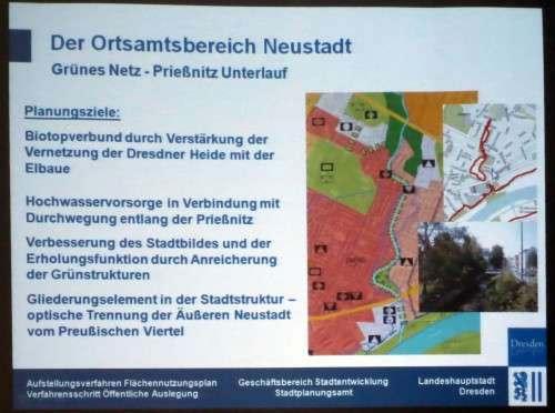 Die Prießnitz soll einen Spazierweg bekommen.