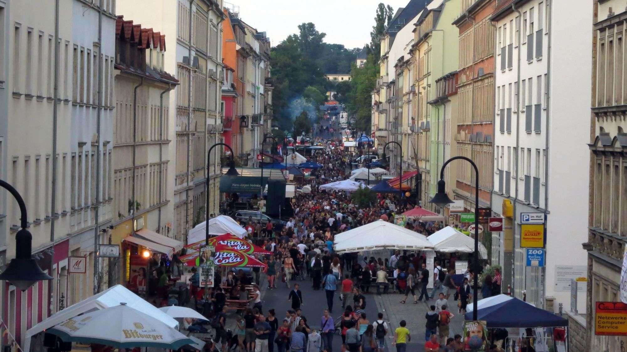 Hechtfest von oben - Foto: Archiv 2013