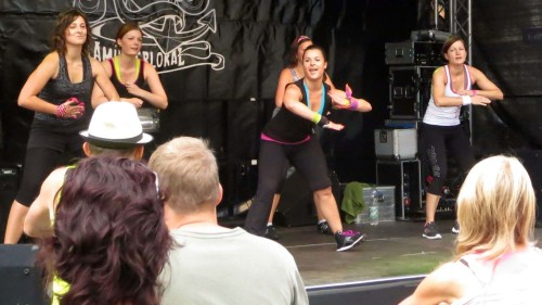 Zumba-Fitness mit Claudia